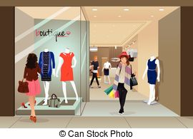 Shop clipart mall Clipart Mall in  of