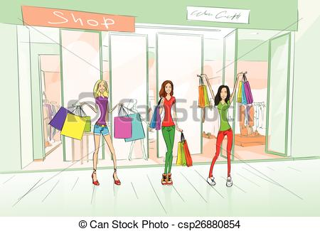 Mall clipart shop Women Bags Shop Bags of