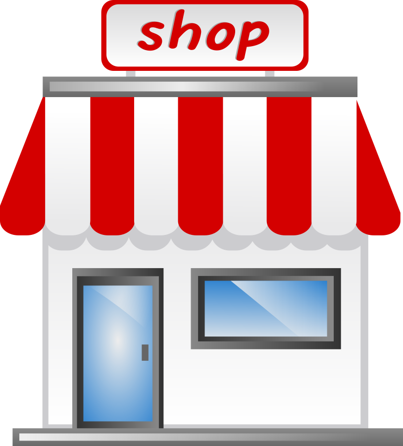 Mall clipart shop Mall Image  #8776 of