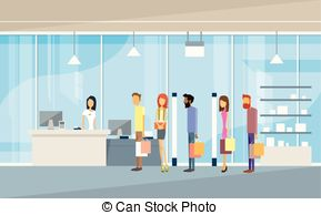 Mall clipart shop Vectors Bags Building Mall EPS