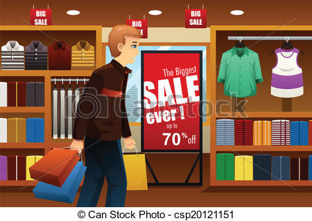 Mall clipart shoppin At of shopping vector mall