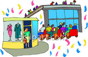 Shop clipart mall Mall Shopping At Picture People