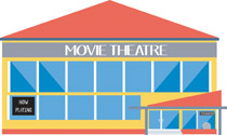 Mall clipart theater building Clipart building Search restaurant Search