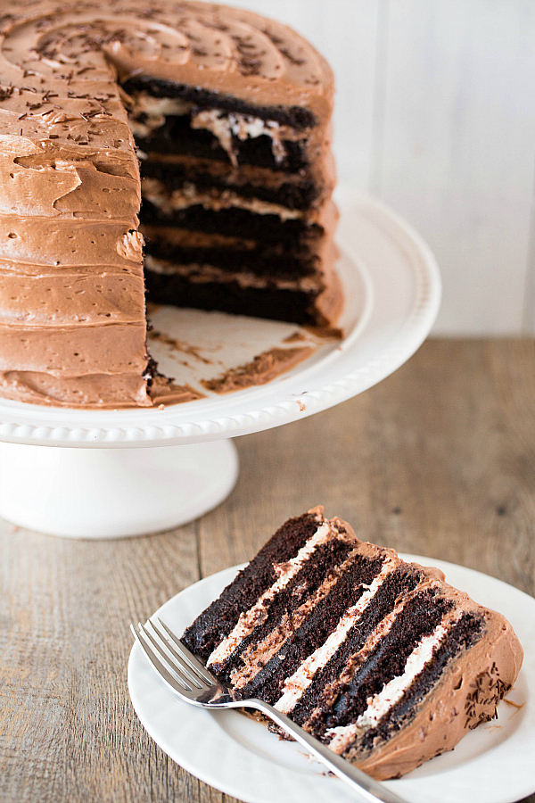 Malt clipart chocolate mousse Cake Recipes  Around Layer