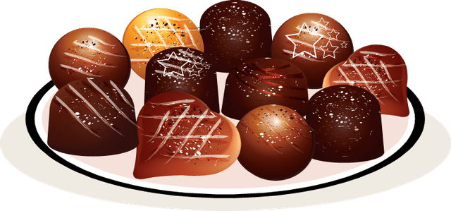 Malt clipart chocolate mousse Desserts Plate of of Clip