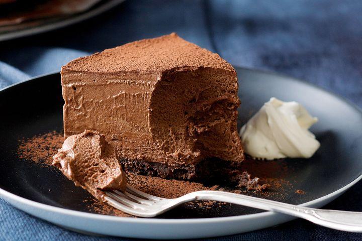 Malt clipart chocolate mousse Cake  mousse chocolate Double