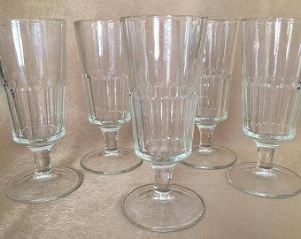 Malt clipart crop Paneled Glass glasses Vintage Glass