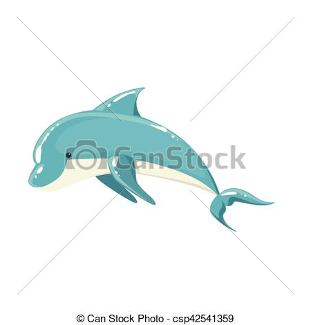 Bottlenose Dolphin clipart blue thing Dolphin Dolphin csp42541359 For Jumping