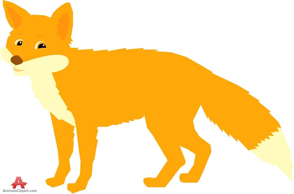 Wildlife clipart mammal Art Fox Cliparting download clip