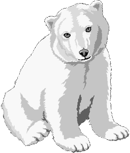 Baby Animal clipart arctic animal Bear page Clipart 1 Free