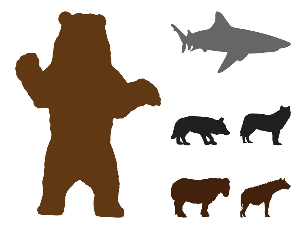 Grizzly Bear clipart standing bear #8
