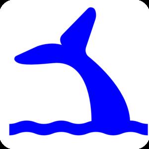 Blue Whale clipart whale tale Art Panda Art Images Tail