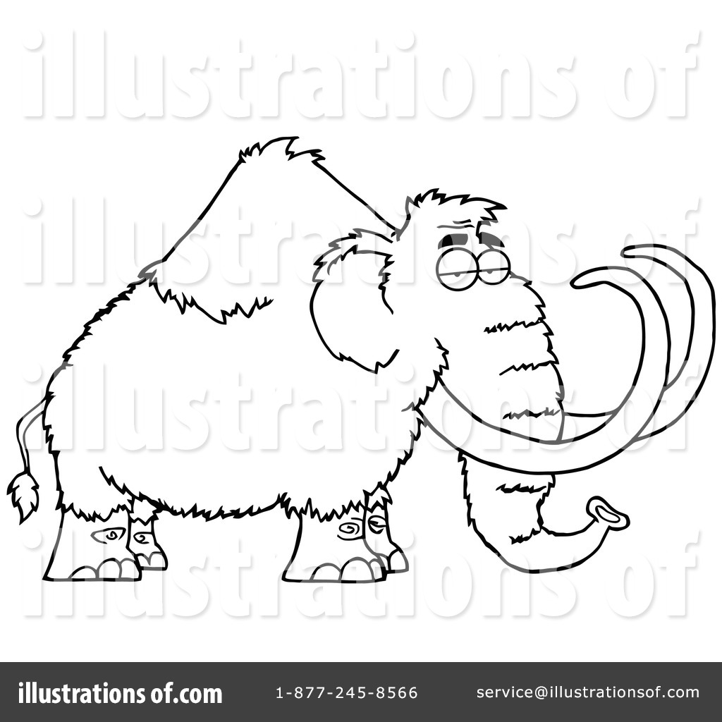 Mammoth clipart Illustration #1122113 by Free Clipart