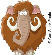 Mammoth clipart Mammoth hand drawn Vector