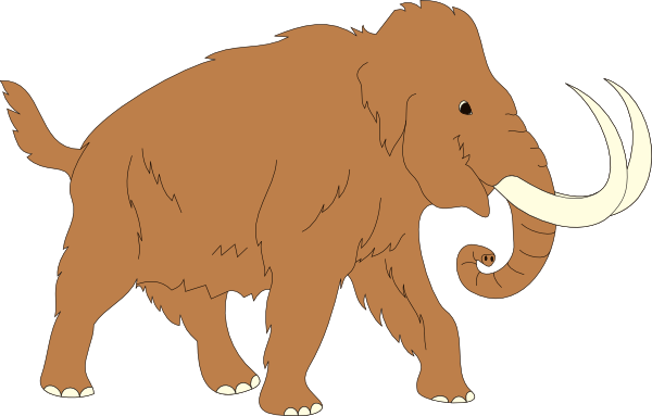 Woolly Mammoth clipart #2