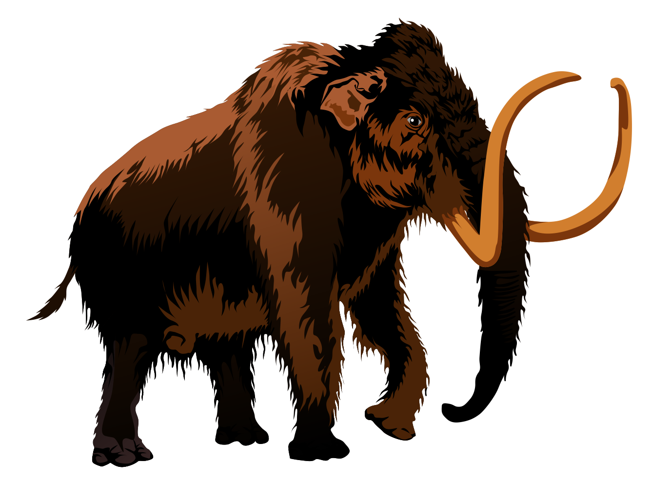 Woolly Mammoth clipart #5