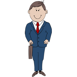 Man clipart In of Suit Man download