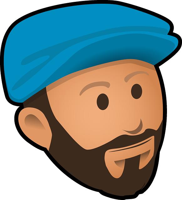 Beard clipart bearded man Clipart Free Free Beard on