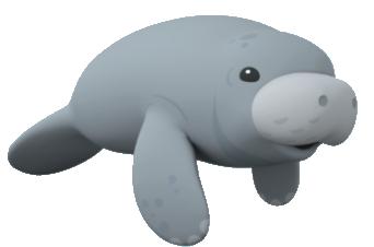 Platypus clipart octonauts Manatee WikiClipArt clip Manatee clipart
