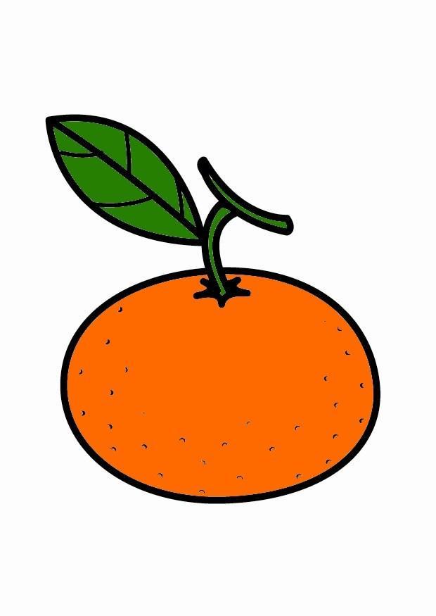 Mandarin clipart mandarine 23205 grande la Téléchargez img