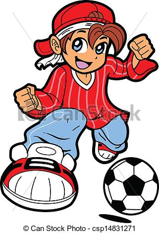 Manga clipart  Anime Happy Player Young
