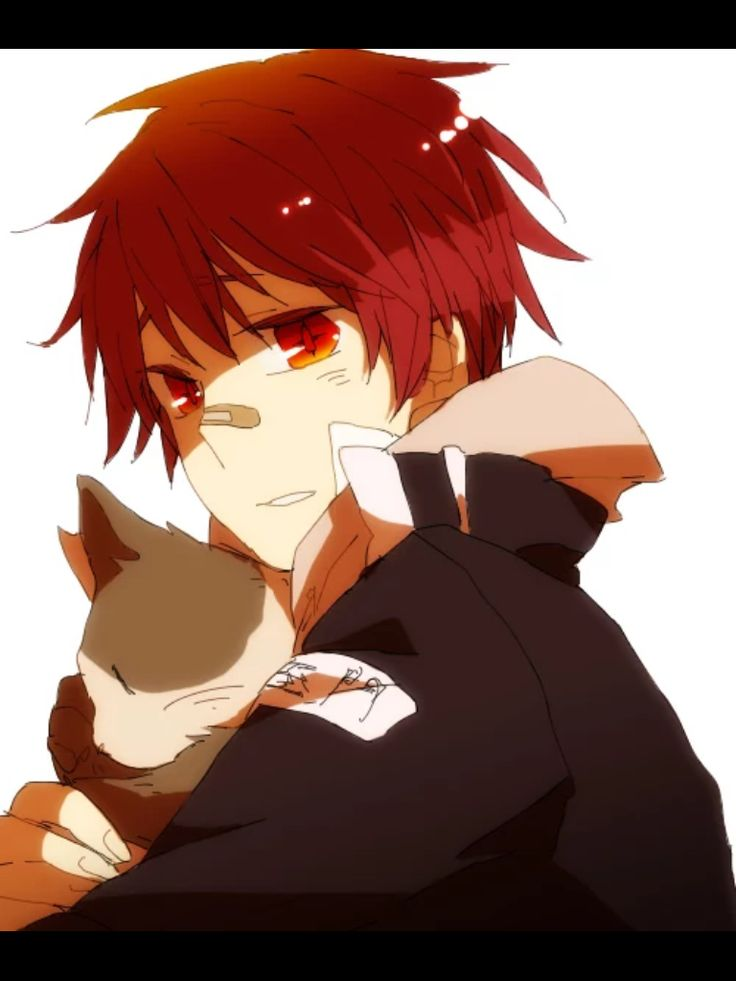 Red Hair clipart anime Anime Pin Red images and