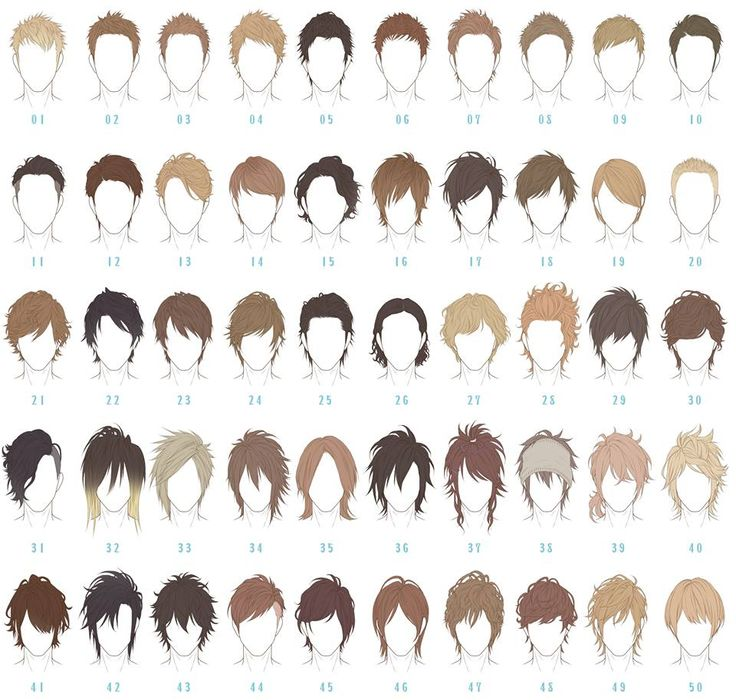 Short Hair clipart man side view Anime BBCpersian7 about Boy Manga