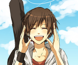 Manga clipart happy boy Images more 66 about Heart