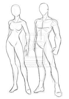 Manga clipart male pose By Male Draw and Manga