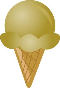Mango clipart icecream Ice Cone Butterscotch Cone Cream