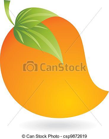 Mango clipart logo Juicy Vectors mango Vector csp9872619