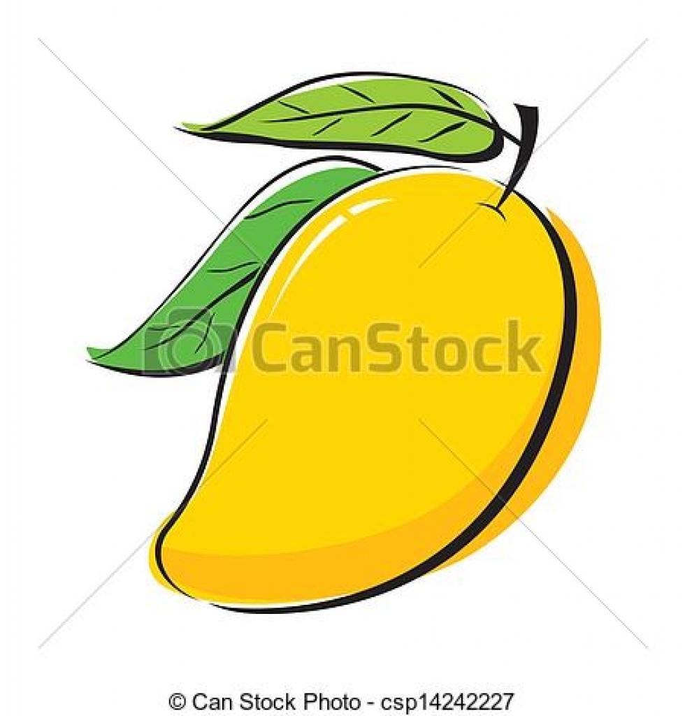 Mango clipart mango fruit Clipart fruit and mango 1734