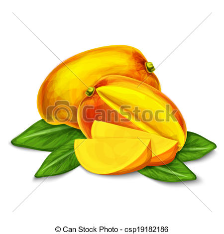 Mango clipart sweet Or sweet or isolated