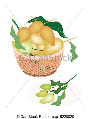 Mango clipart sweet Basket Fruits Sweet of Fresh