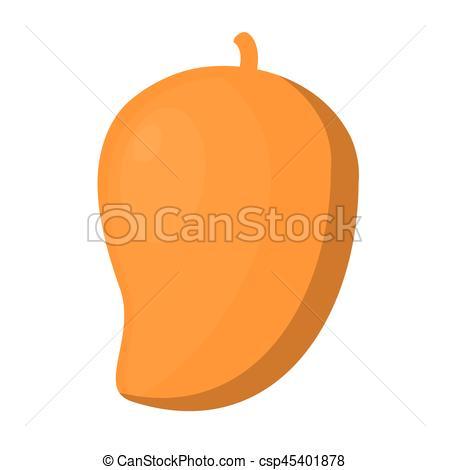 Mango clipart sweet Icon fruit sweet vector illustration