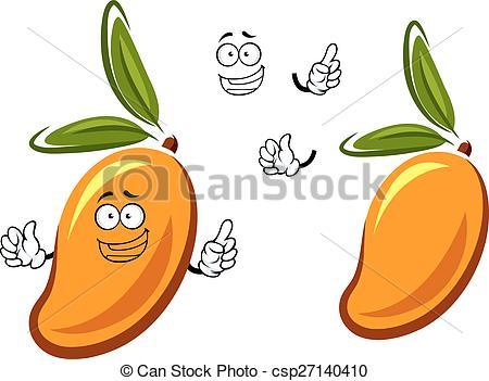 Mango clipart sweet Sweet cartoon fruit Art character