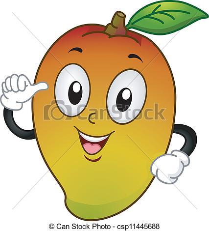 Mango clipart thumbs up Mango Illustration Mango Mascot Mascot