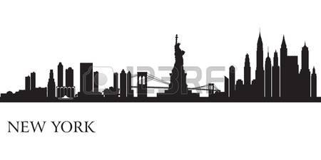 Skyscraper clipart ny skyline Clipart 919 Manhattan Cliparts collection