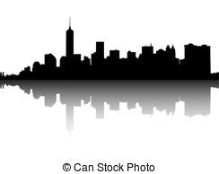 Panorama clipart manhattan Illustrations Lower Manhattan on Clipart