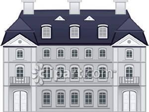 Mansion clipart Clipart Savoronmorehead Royalty Mansion Mansion