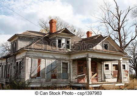 Abandoned clipart Alone Clipart Needing Old house house of