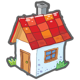Hosue clipart cute Cottage clipart transparent Small house