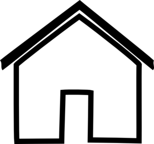 Place clipart simple house #15