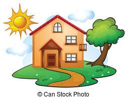 Hosue clipart bungalow  edit House Bungalow of