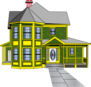 Bungalow clipart my house Gingerbread Clker Art clip Gingerbread