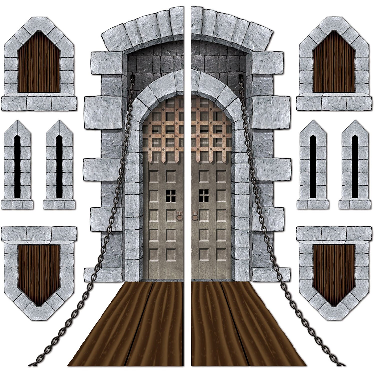 Windows clipart medieval castle Castle  Door art window