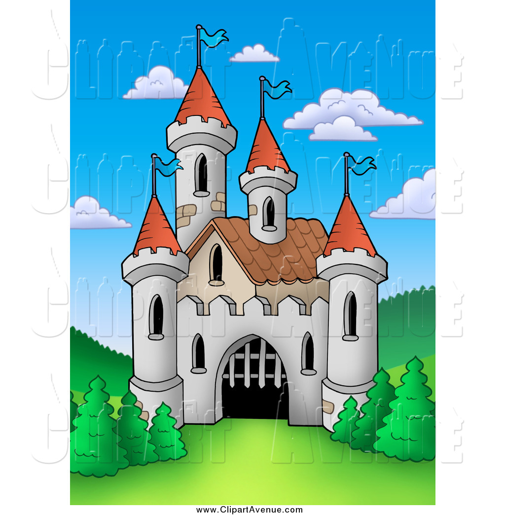 Mansion clipart castle gate Castle Castles of Opening Royalty