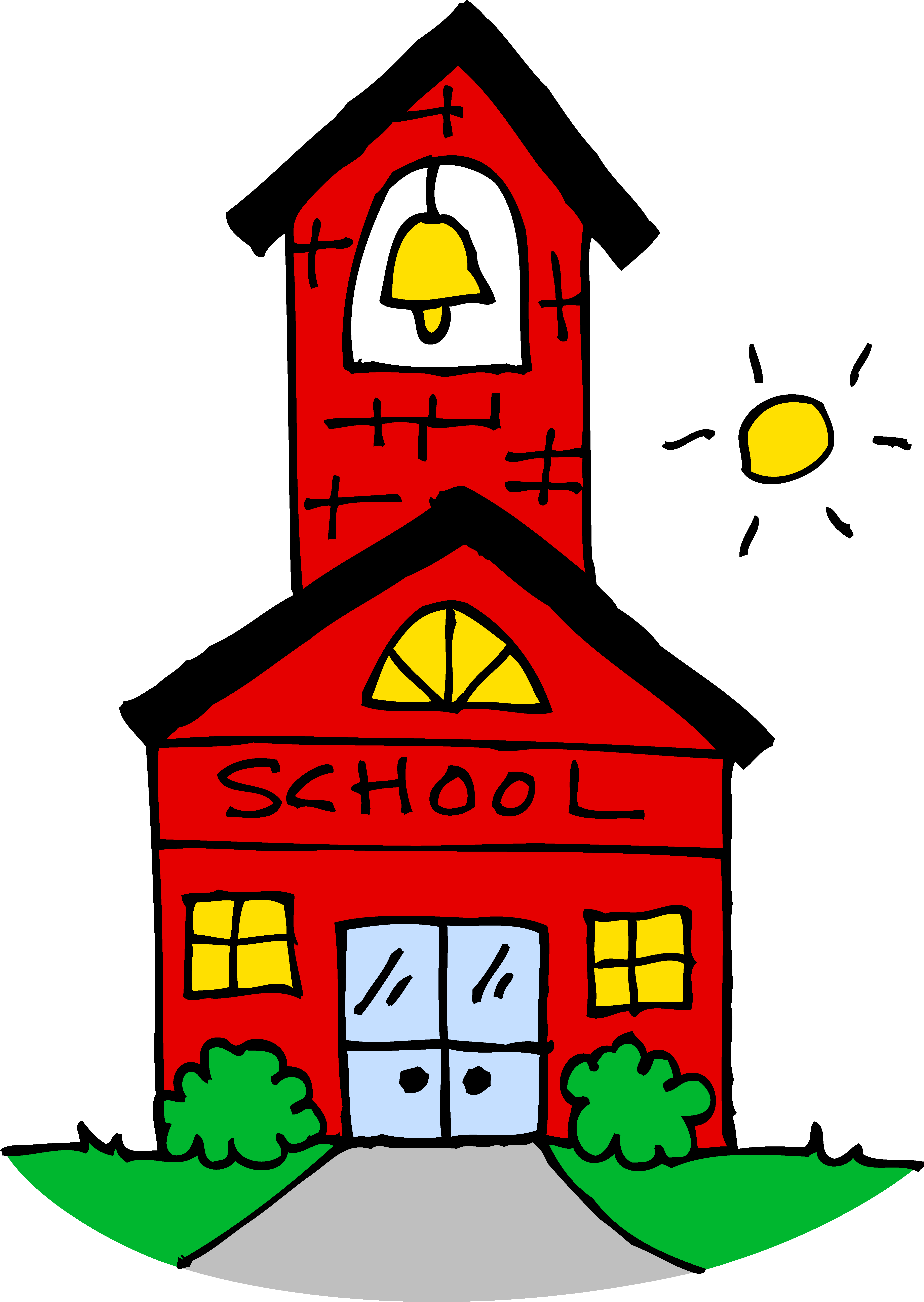 Covered clipart free school  Download to House Clipart