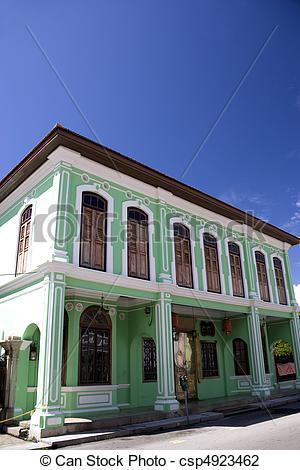 Mansion clipart heritage Mansion Peranakan Penang Georgetown Peranakan