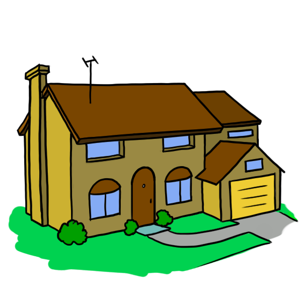 Mansion clipart home ClipArt Art Images Free Cartoon